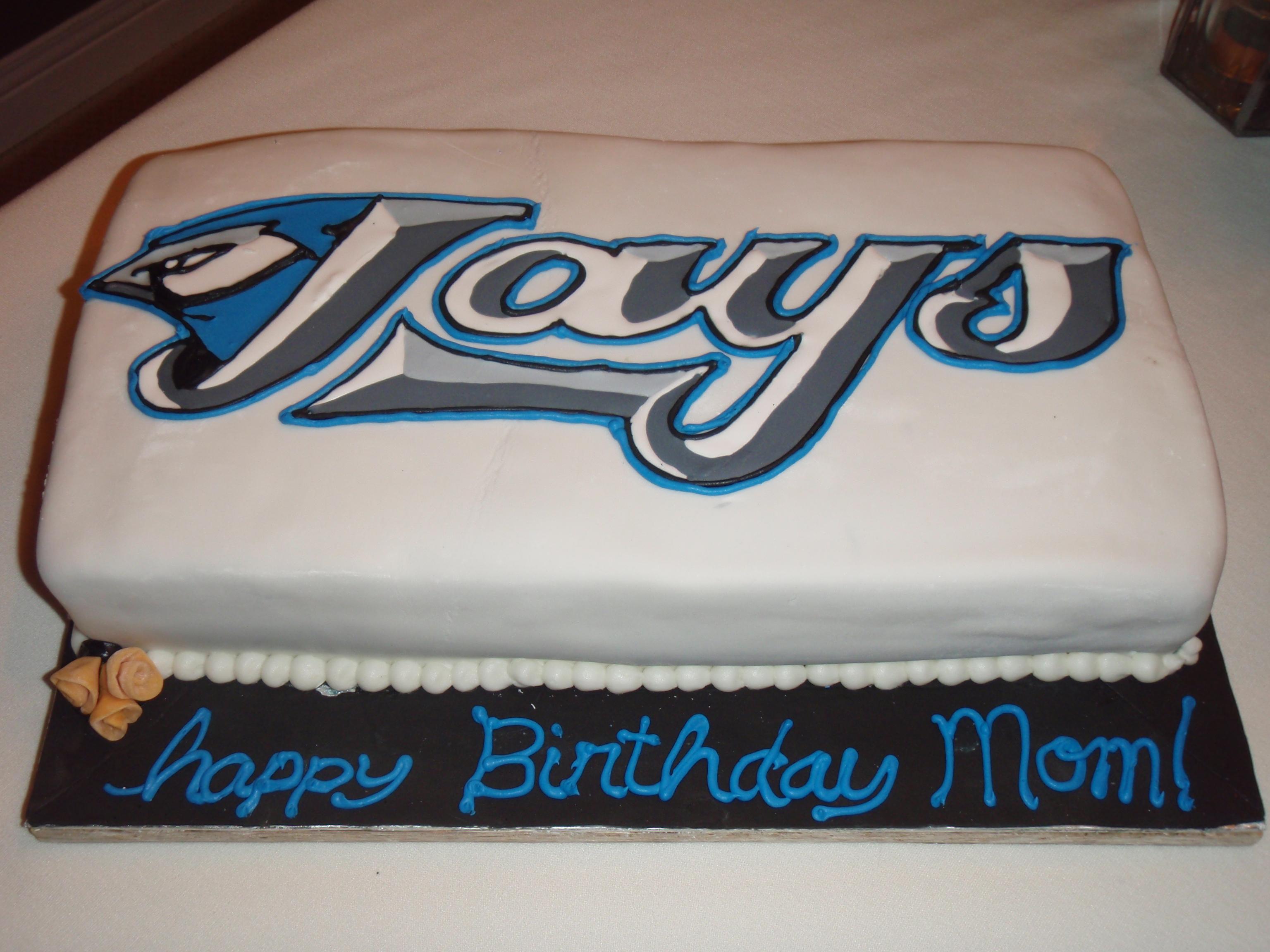 Blue Jays Emmy J Cake Design