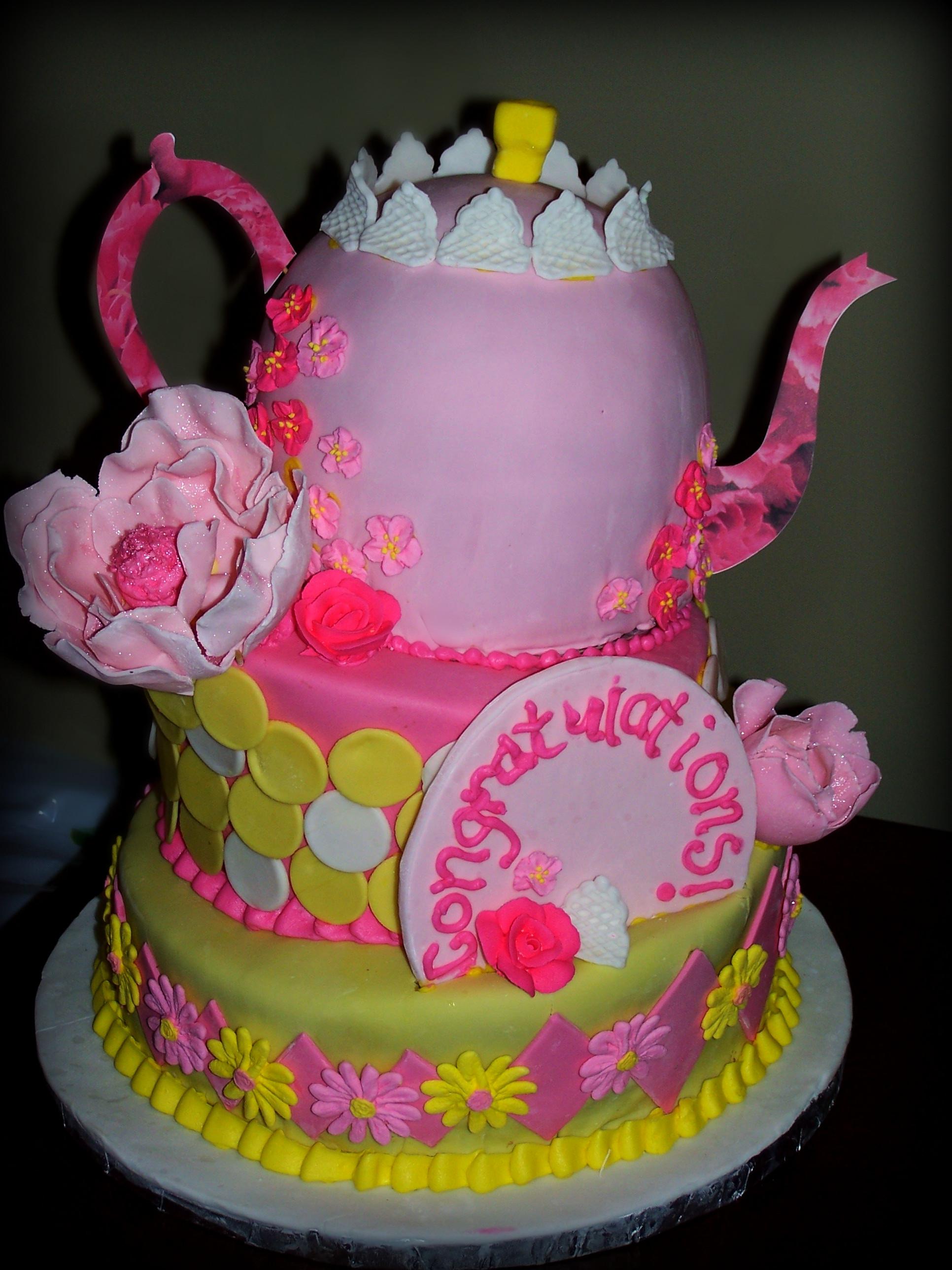 High Tea Emmy J Cake Design